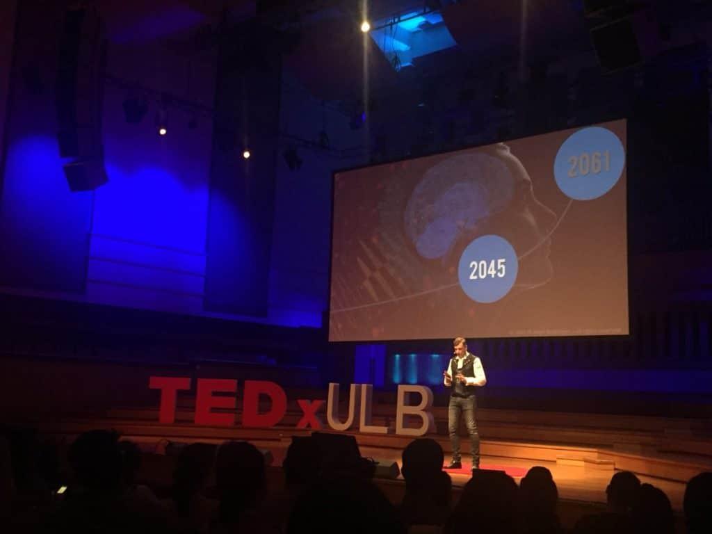 Philippe Boulanger at TEDxULB
