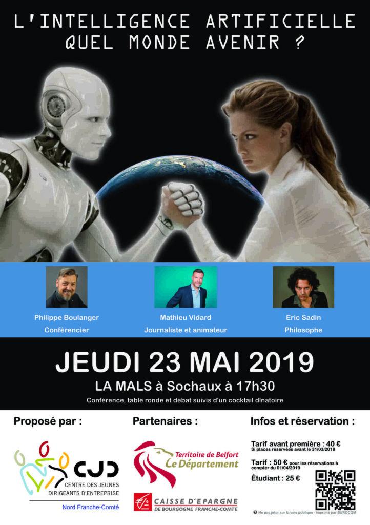 Philippe Boulanger - conférence sur l'Intelligence Artificielle